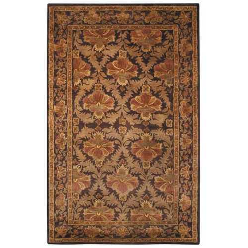 Safavieh Antiquities William Morris Wine Gold Rug