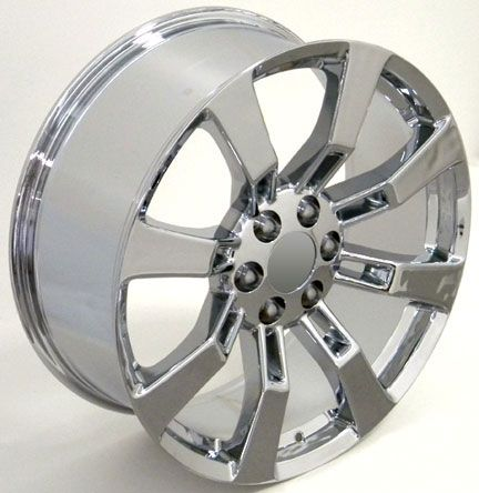 20 Chrome Escalade Wheels Rims Fit Cadillac GMC Yukon Suburban Tahoe